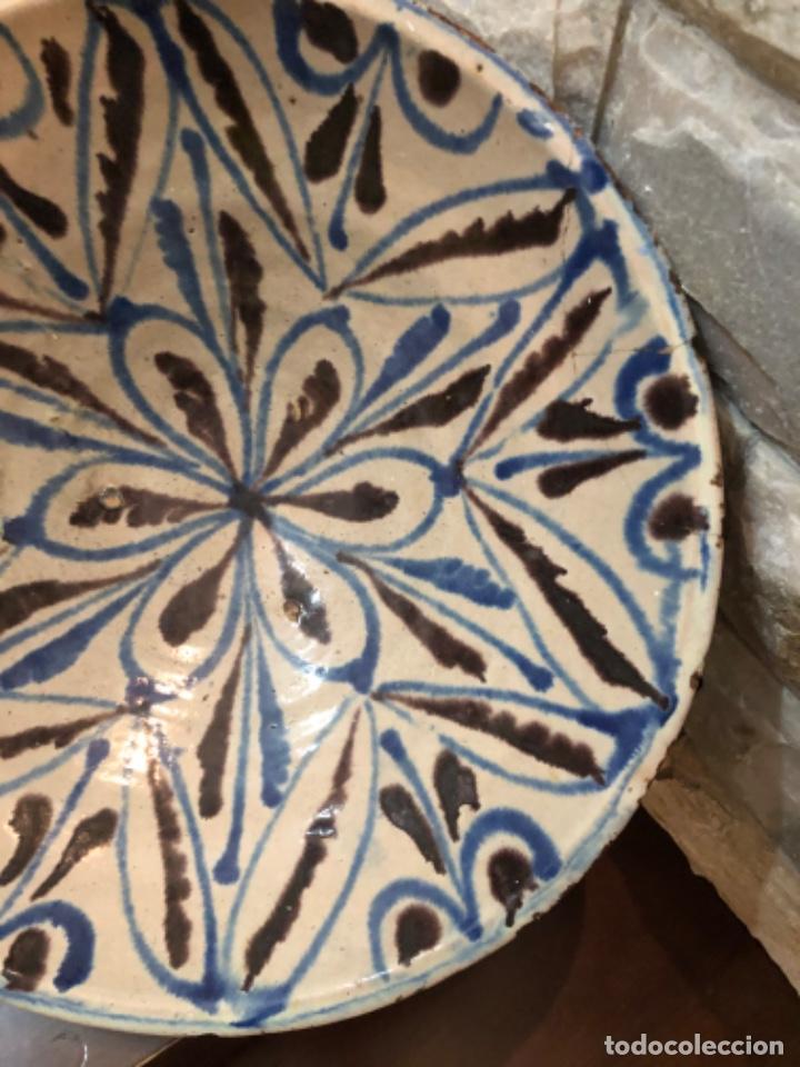 Antigüedades: ANTIGUA FUENTE EN CERÁMICA DE FAJALAUZA - Foto 4 - 220431068