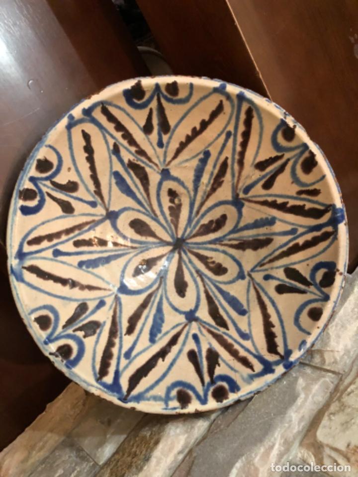 Antigüedades: ANTIGUA FUENTE EN CERÁMICA DE FAJALAUZA - Foto 5 - 220431068