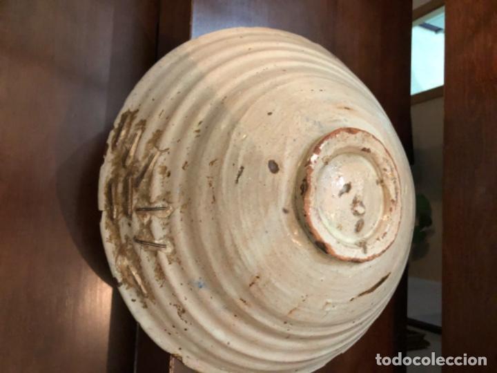 Antigüedades: ANTIGUA FUENTE EN CERÁMICA DE FAJALAUZA - Foto 7 - 220431068