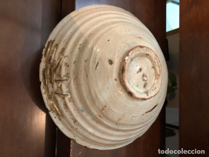 Antigüedades: ANTIGUA FUENTE EN CERÁMICA DE FAJALAUZA - Foto 8 - 220431068