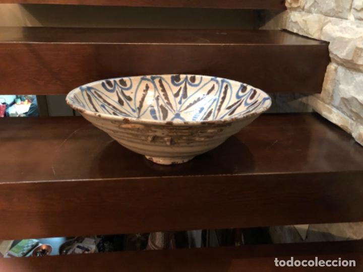 Antigüedades: ANTIGUA FUENTE EN CERÁMICA DE FAJALAUZA - Foto 9 - 220431068