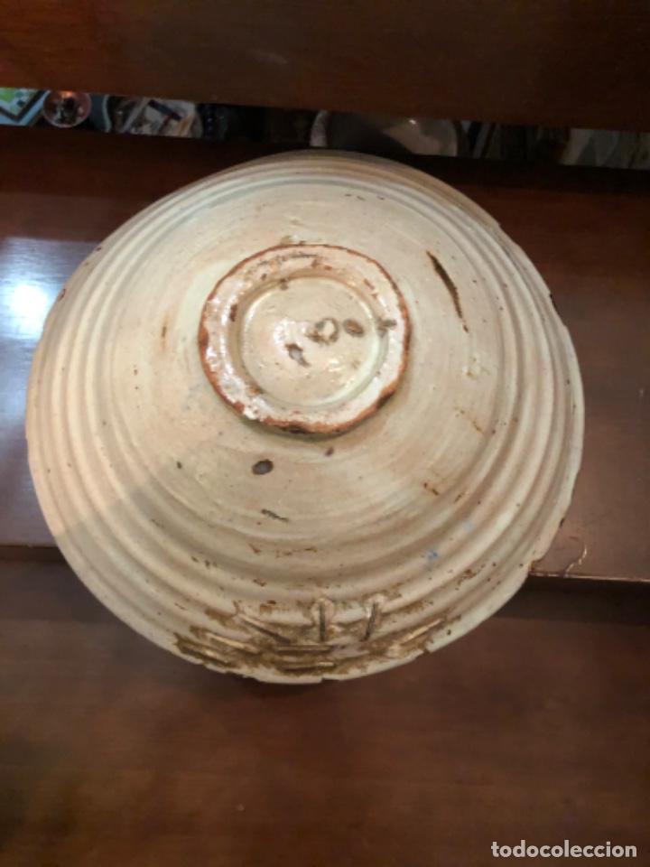 Antigüedades: ANTIGUA FUENTE EN CERÁMICA DE FAJALAUZA - Foto 10 - 220431068