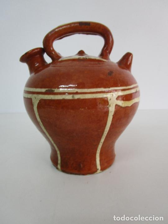Antigüedades: Antiguo Botijo - Cantir La Bisbal (Baix Empordà) - Cerámica Catalana - Foto 2 - 220444818