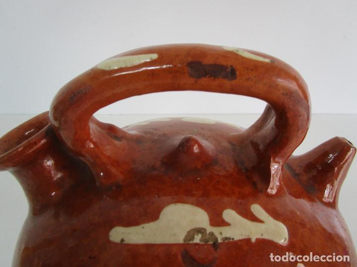 Antigüedades: Antiguo Botijo - Cantir La Bisbal (Baix Empordà) - Cerámica Catalana - Foto 5 - 220444818