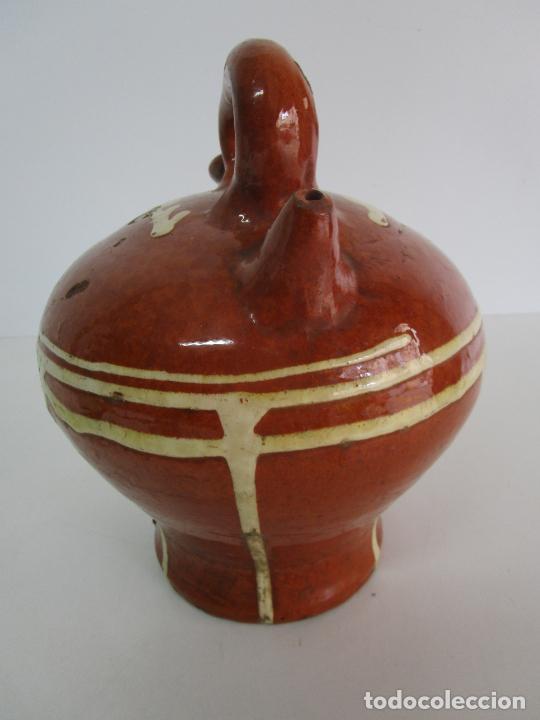 Antigüedades: Antiguo Botijo - Cantir La Bisbal (Baix Empordà) - Cerámica Catalana - Foto 7 - 220444818