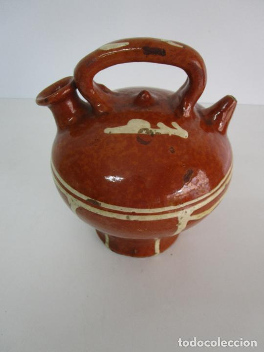 Antigüedades: Antiguo Botijo - Cantir La Bisbal (Baix Empordà) - Cerámica Catalana - Foto 12 - 220444818