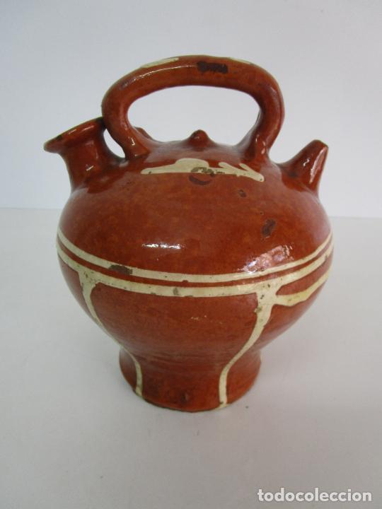 Antigüedades: Antiguo Botijo - Cantir La Bisbal (Baix Empordà) - Cerámica Catalana - Foto 13 - 220444818