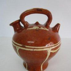 Antigüedades: ANTIGUO BOTIJO - CANTIR LA BISBAL (BAIX EMPORDÀ) - CERÁMICA CATALANA. Lote 220444818