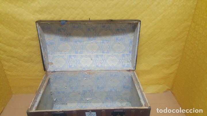 Antigüedades: BAÚL EN MADERA DE PINO SIGLO XX, 6000-286 - Foto 6 - 45731701