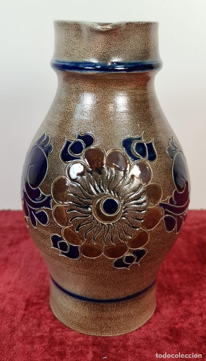 Antigüedades: JARRA DE CERÁMICA. HECHA A MANO. PAUL KRUFT. ALEMANIA. 1997. - Foto 6 - 220460996