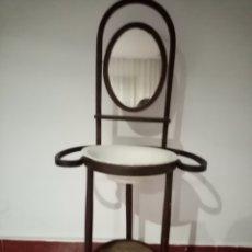 Antigüedades: ANTIGUO PALANGANERO DE MADERA. Lote 220462148
