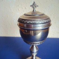 Antigüedades: (ANT-201030)CALIZ DE PLATA PRINCIPIOS SIGLO XX MARCAGE 800. Lote 220486091