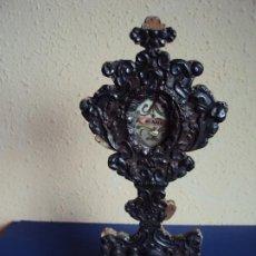 Antigüedades: (ANT-201033)CUSTODIA PLATA REPUJADA ST.ANA SIGLO XVIII. Lote 220488276