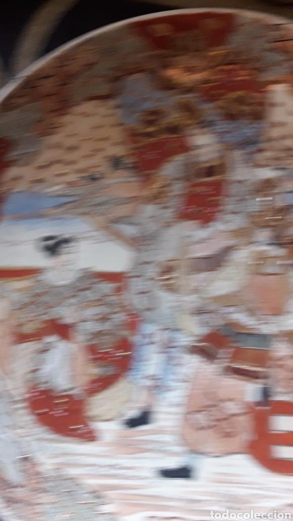 Antigüedades: Antiguo plato de porcelana Satsuma - Foto 2 - 220502598