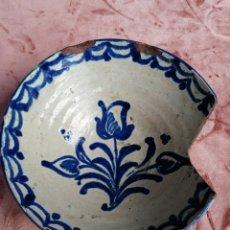 Antigüedades: ANTIGUO LEBRILLO CERÁMICA FAJALAUZA S. XVIII. Lote 220520022