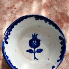 Antigüedades: PEQUEÑO LEBRILLO CERÁMICA FAJALAUZA SIGLO XX. Lote 220521500