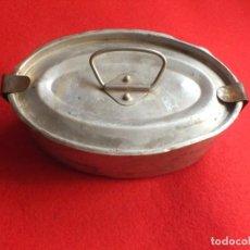 Antigüedades: ANTIGUA FIAMBRERA ALUMINIO. Lote 220529117