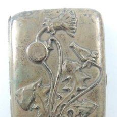 Antigüedades: PRECIOSA PITILLERA TABAQUERA DE PLATA PESA 66 GR. OBJETO DE COLECCION. Lote 220562908