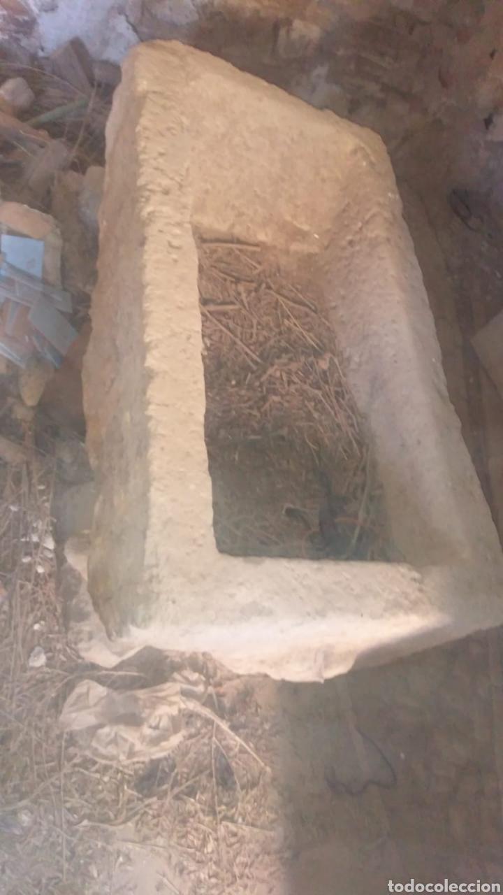 Antigüedades: Pila de lavandera antigua de piedra - Foto 6 - 220570311