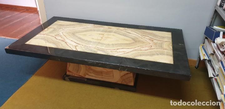 Antigüedades: Mesa Onix . Mesa centro años 80 - Foto 4 - 220617673