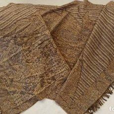 Antigüedades: FULAR IMITACIÓN CACHEMIR, PARA INDUMENTARIA, GRAN TAMAÑO. Lote 220635182