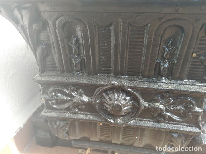 Antigüedades: INCREÍBLES JARDINERAS ART NOUVEAU - MODERNISTA - DÉCO DE HIERRO FORJADO - FUNDIDO PRINCIPIOS S. XX. - Foto 8 - 220667220