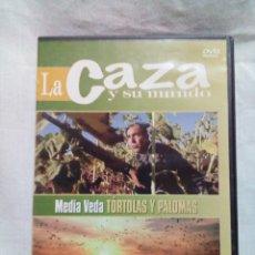 Antigüedades: LA CAZA Y SU MUNDO-DVD. Lote 220678963