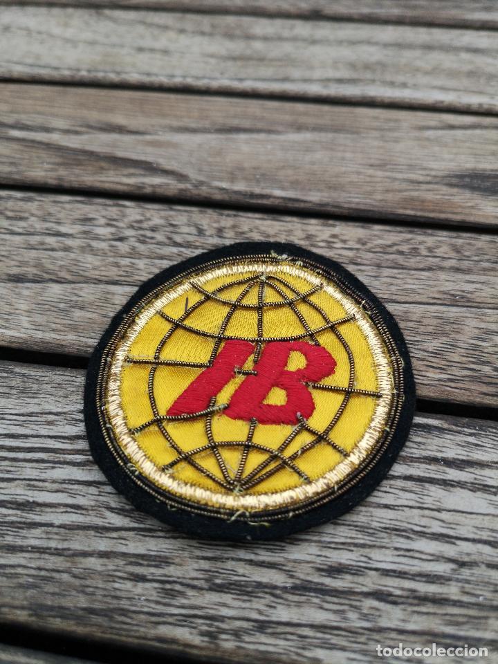 Antigüedades: IBERIA 3 Bordados para uniforme Logotipo años 70 - Foto 2 - 220683187