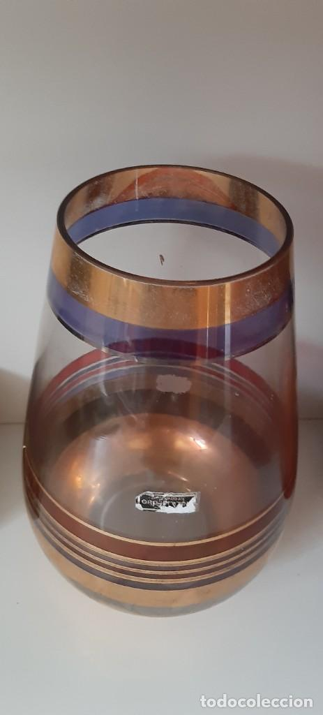 Antigüedades: jarro oro platino - Foto 2 - 220707396