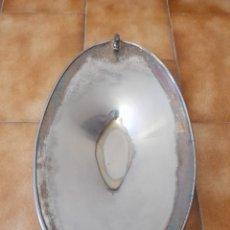Antigüedades: CENTRO DE MESA DE ALPACA. Lote 220719486