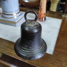Antigüedades: CAMPANA DE BRONCE SXVII. Lote 220736478