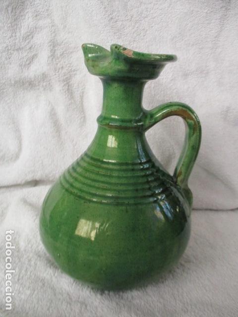 Antigüedades: Lote de 2 piezas de cerámica vidriada de Úbeda- Tito - Foto 3 - 220758035