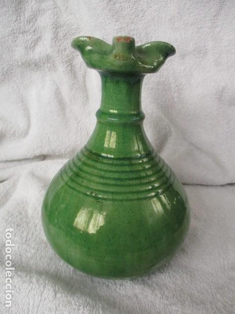 Antigüedades: Lote de 2 piezas de cerámica vidriada de Úbeda- Tito - Foto 4 - 220758035