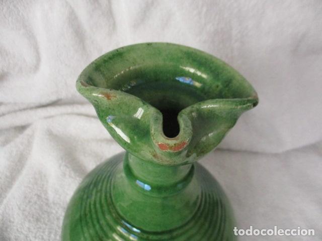 Antigüedades: Lote de 2 piezas de cerámica vidriada de Úbeda- Tito - Foto 5 - 220758035