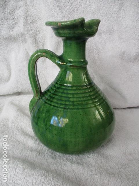 Antigüedades: Lote de 2 piezas de cerámica vidriada de Úbeda- Tito - Foto 6 - 220758035