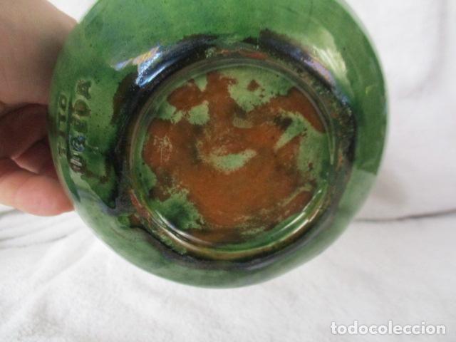 Antigüedades: Lote de 2 piezas de cerámica vidriada de Úbeda- Tito - Foto 7 - 220758035