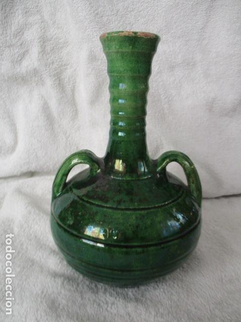 Antigüedades: Lote de 2 piezas de cerámica vidriada de Úbeda- Tito - Foto 9 - 220758035