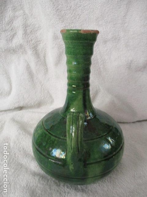 Antigüedades: Lote de 2 piezas de cerámica vidriada de Úbeda- Tito - Foto 10 - 220758035
