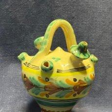 Antiquités: BOTIJO PUENTE ARZOBISPO MINIATURA 16X10CMS. Lote 220760991