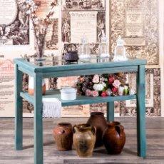 Antigüedades: MUEBLE EXPOSITOR RECUPERADO LLANES. Lote 220791426