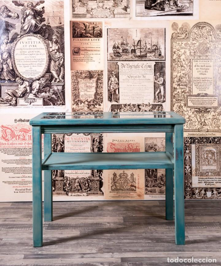 Antigüedades: Mueble Expositor Recuperado Llanes - Foto 5 - 220791426