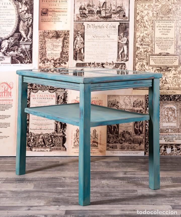 Antigüedades: Mueble Expositor Recuperado Llanes - Foto 6 - 220791426