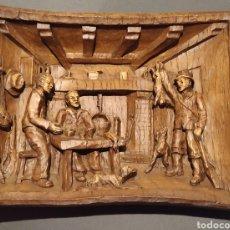 Antigüedades: CUADRO CREO DE ESCAYOLA. Lote 220800071