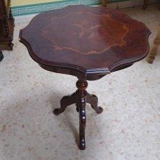 Antiquités: VELADOR EN MADERA. Lote 220837486