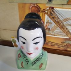 Antigüedades: HUCHA DOMUND TAILANDESA. Lote 218762775