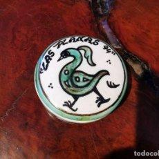 Antigüedades: POTE DE CERAMICA DE TERUEL DOMINGO PUNTER LAS PLANAS 94. Lote 220852377