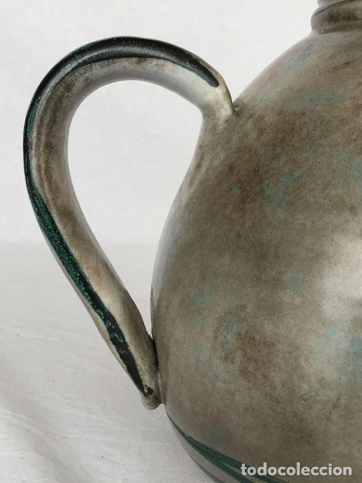 Antigüedades: Preciosa jarra de Yvon Roy cerámica Montgolfier (Francia) años 50-60 - Foto 7 - 220862321