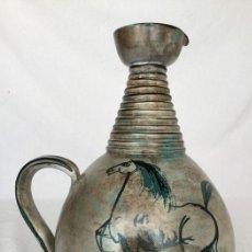 Antigüedades: PRECIOSA JARRA DE YVON ROY CERÁMICA MONTGOLFIER (FRANCIA) AÑOS 50-60. Lote 220862321