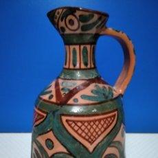 Antigüedades: JARRÓN DE BARRO CON BONITOS COLORES.. Lote 220867426