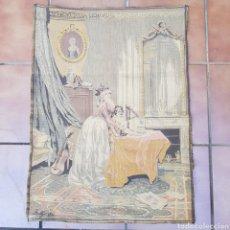 Antigüedades: ANTIGUO TAPIZ FRANCES DEL FAMOSO PINTOR LOUIS LEOPOLD BOILLY. Lote 220925792